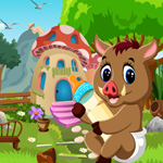 G4K Cute Wild Boar Rescue Game