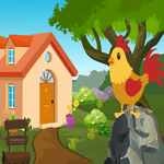 G4K Cute Rooster Rescue Game