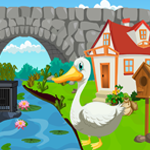 Games4King Cute Swan Rescue