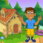 G4K Funny Boy Rescue Game