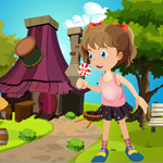 G4K Cute Young Girl Rescue Game