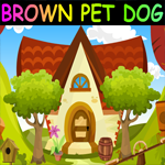 G4K Brown Pet Dog Escape Game