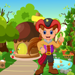 Cute Pirate Girl Rescue Game