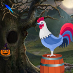 Games4King Cute Rooster Rescue 2