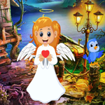 Games4King Cute Angel Rescue