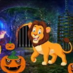 Games4King Lion Rescue From Cave 2