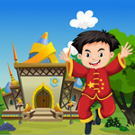 Happy Chinese Boy Rescue Game