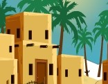 GenieFunGames Desert Lonely House Escape