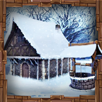 The Frozen Sleigh-Dwarf House Escape