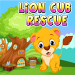 Lion Cub Rescue Game