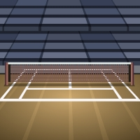 GenieFunGames Tennis Court Escape