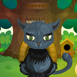 Games4King Black Cat Rescue 2 Game