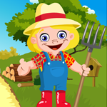 Games4king Cute Farmer Escape