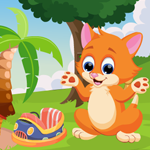 Games4King Cute Cat Escape 2
