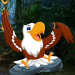 Games4King Cute Eagle Rescue