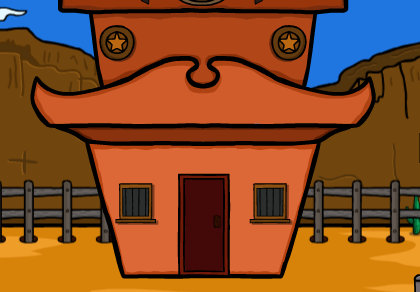 Games2Jolly  Cowboy Rescue From Desert