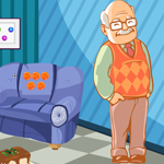 Games4King Cute Grandfather Rescue