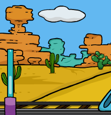 Games2Jolly Desert Train Escape
