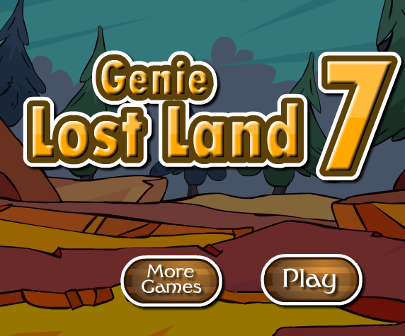 GFG Genie Lost Land Escape 7