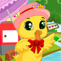 G4K Stylish Chick Rescue Escape