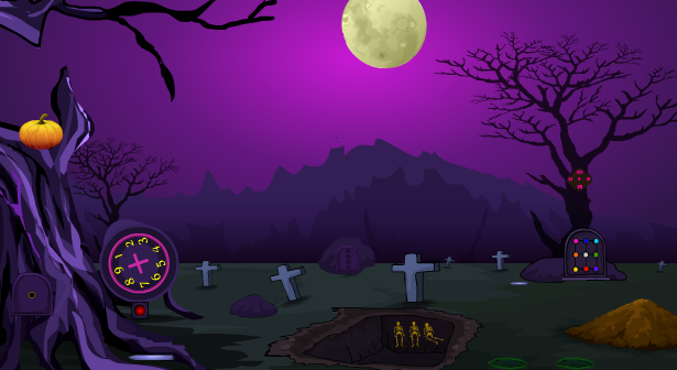 Games4Escape Halloween Skeleton Escape 2018