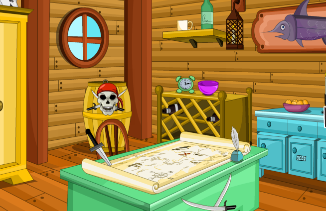 Gelbold-GB Jolly Roger Captain Escape