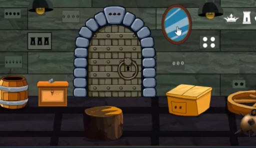 GenieFunGames Dungeon Single Door Escape