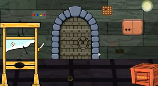 GenieFunGames-Dungeon 3 Door Escape