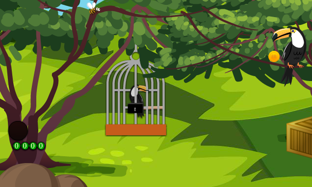 8bGames - 8b Toucan Couple Escape