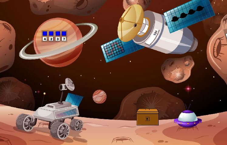 Games2Jolly Cosmonaut Escape