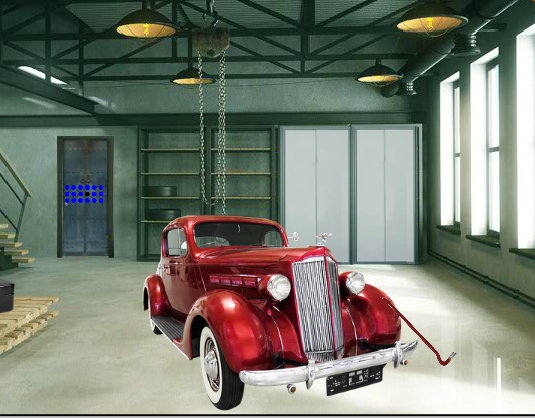 8b Scanty Garage Escape