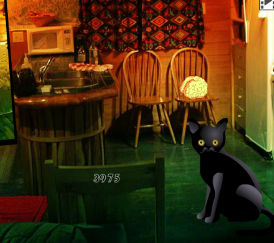 Wow Halloween Cat House Escape
