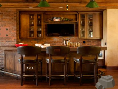 GFG Rustic Home Bar Escape