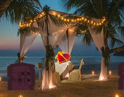 Valentine Heart Resort Escape