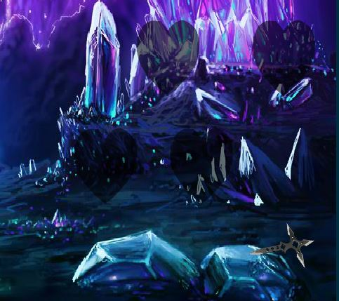 BEG Fantasy Crystal Cluster Escape