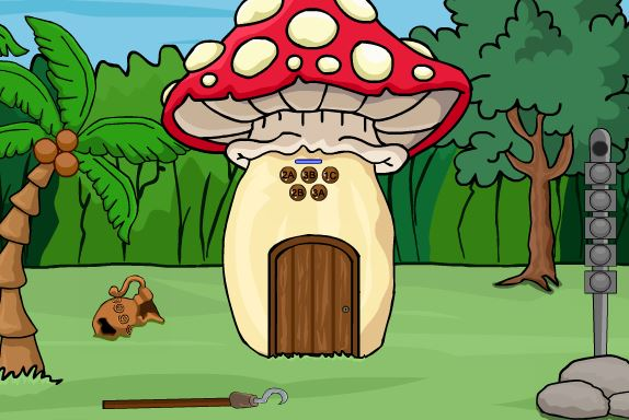 G2J Mushroom Forest House Escape