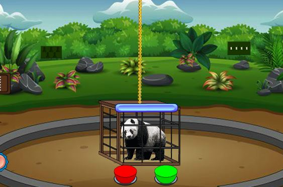 Games2Jolly Rescue The Panda From Cage