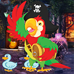 G4K Ecstatic Pirate Parrot Escape Game
