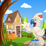 G4K Happy White Cockatoo Rescue Game