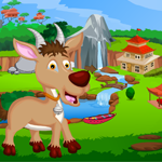 G4K Cute Antelope Rescue Game