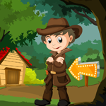 G4K Detective Agent Rescue Game