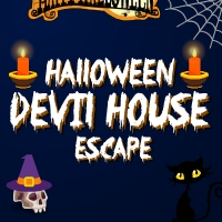 GenieFunGames Halloween Devil House Escape