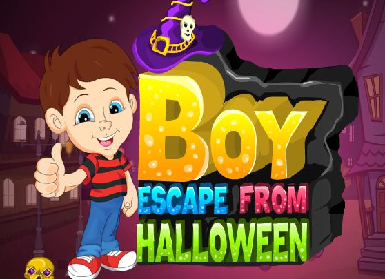 The boy escape from Halloween