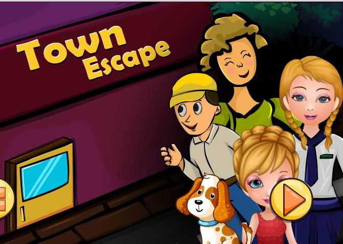 Dressup2girls TOWN ESCAPE