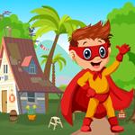 Superhero Boy Rescue Game