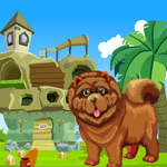 Games4King Chow Chow Dog Rescue