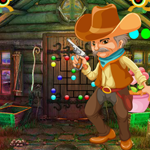 Games4King Cute Cowboy Escape