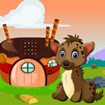 Games4King Baby Hyena Rescue