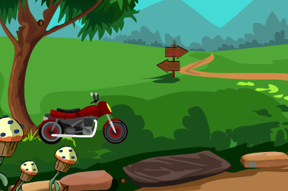 Zoozoogames Escape With Bike