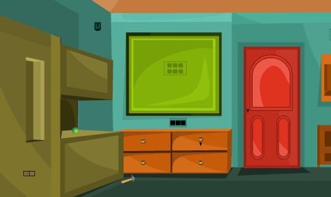 ZooZooGames Green House Escape